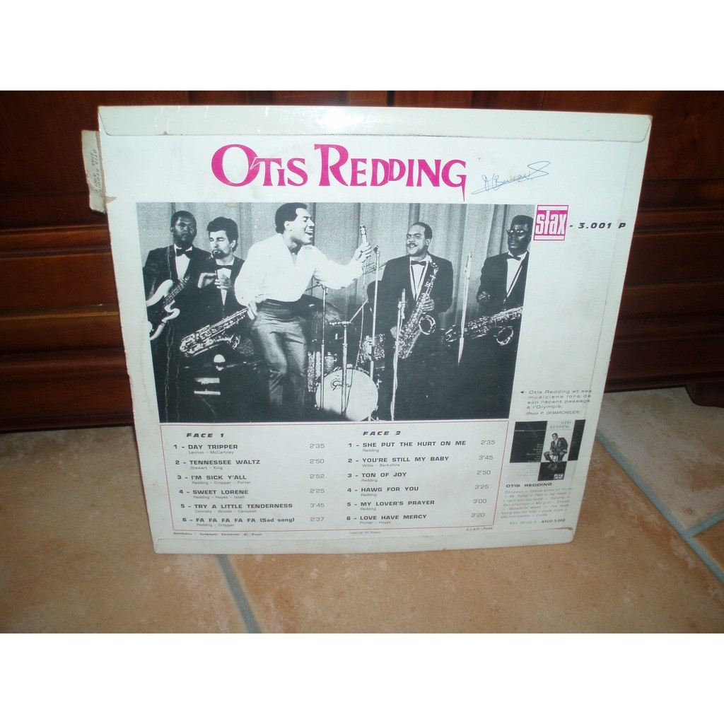 Otis Redding Day Tripper
