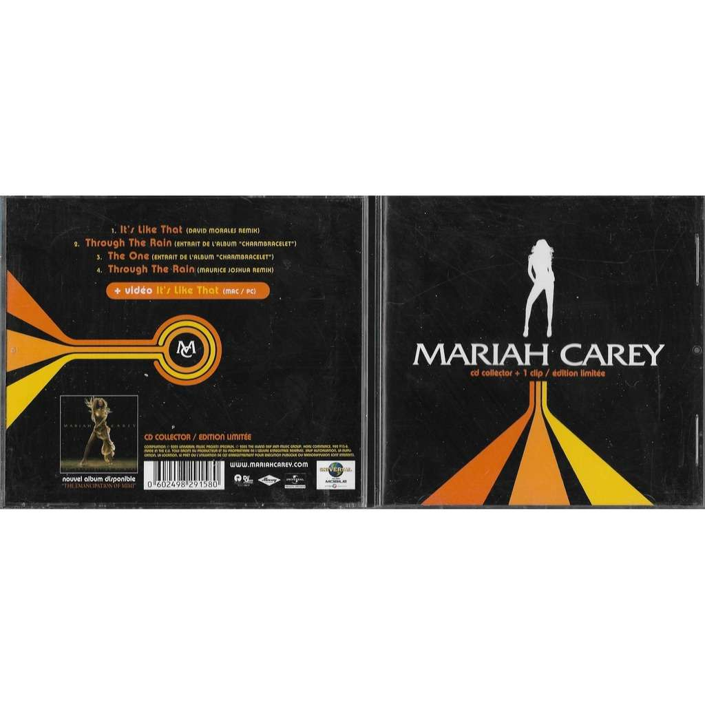 Mariah CAREY CD Collector + 1 clip / Edition limitée