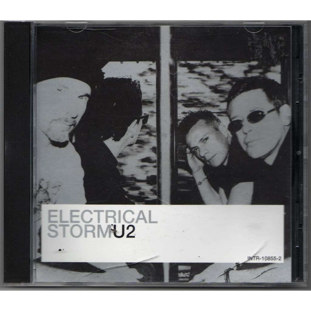 U2 Electrical Storm (USA 2002 Ltd 1-trk promo CD unique ps)