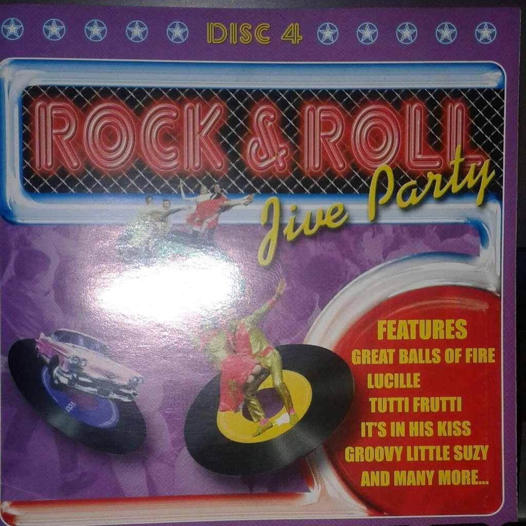 Rock & Roll Jive Party - Disk 4 Rock & Roll Jive Party - Disk 4