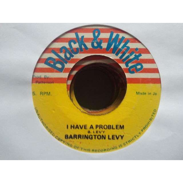 BARRINGTON LEVY /KING TUBBYS I HAVE A PROBLEM / PROBLEM SKANK ORIG.
