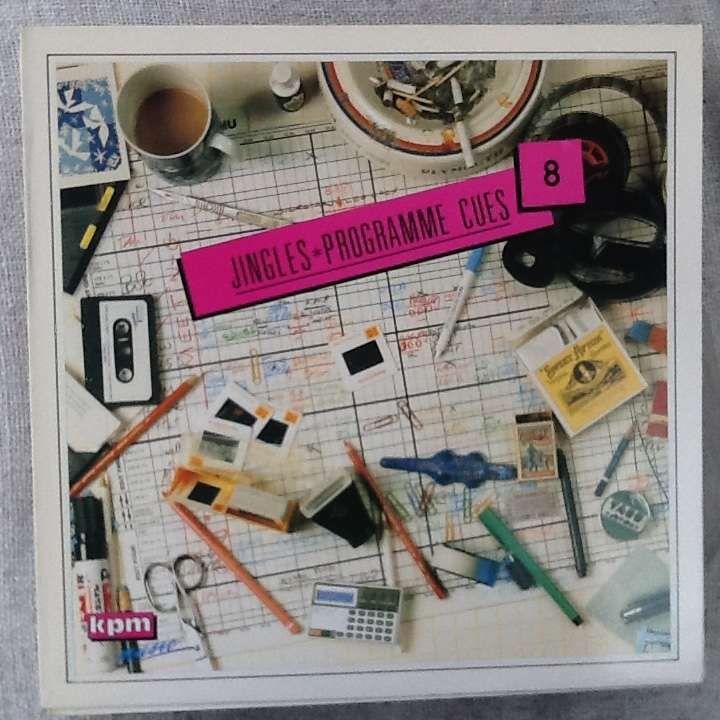 Keith Mansfield - Jingles And Programme Cues Jingles And Programme Cues/Volume 8 (LP) KPM