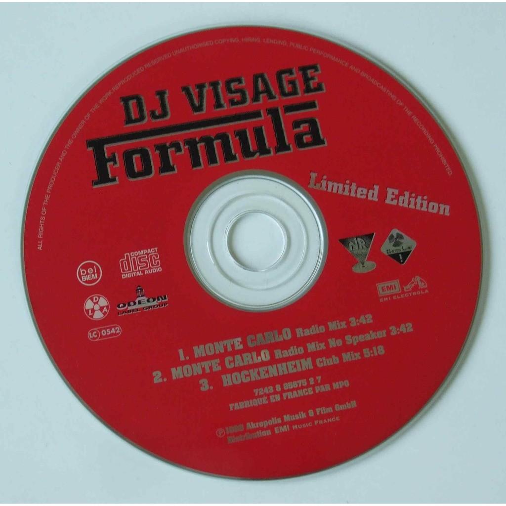 DJ Visage Formula (Limited edition)