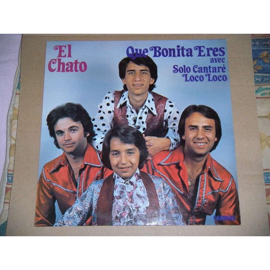EL CHATO QUE BONITA ERES