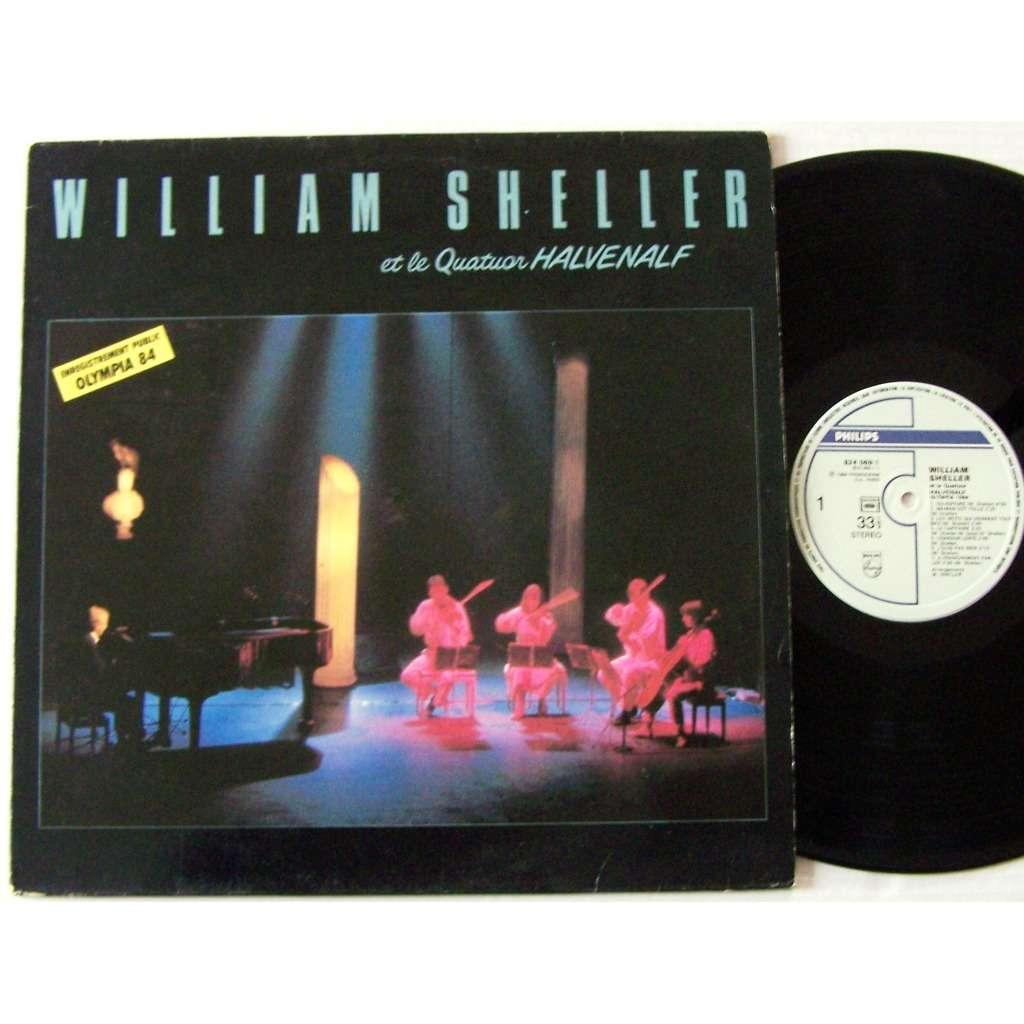 william sheller et le quatuor Halvenalf olympia 84 ouverture / maman est folle