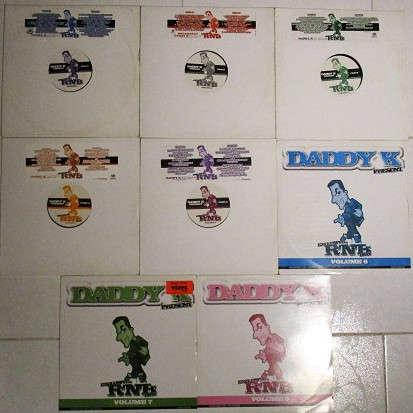 Daddy K volume 1,2,3,4,5,6,7,8