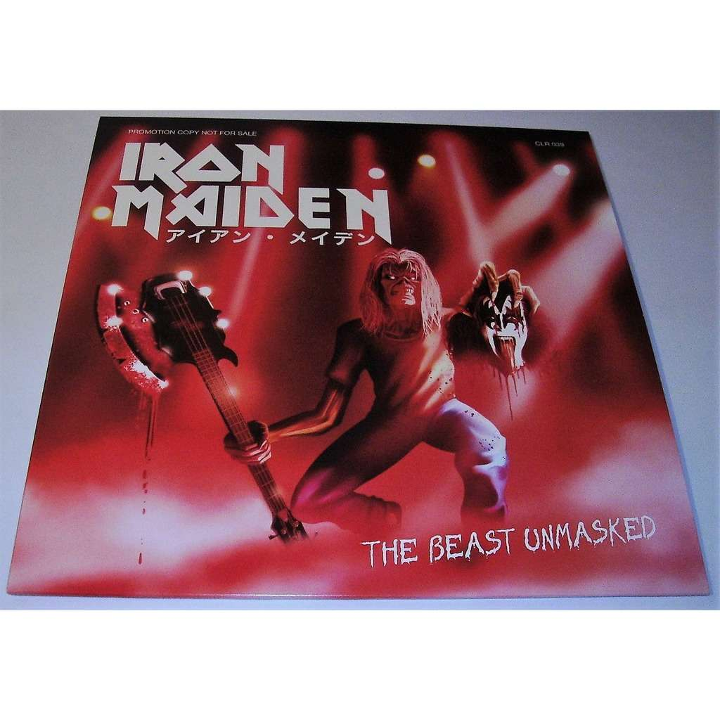 Iron Maiden  The Beast Unmasked (lp) Ltd Edit Colour Vinyl -E.U