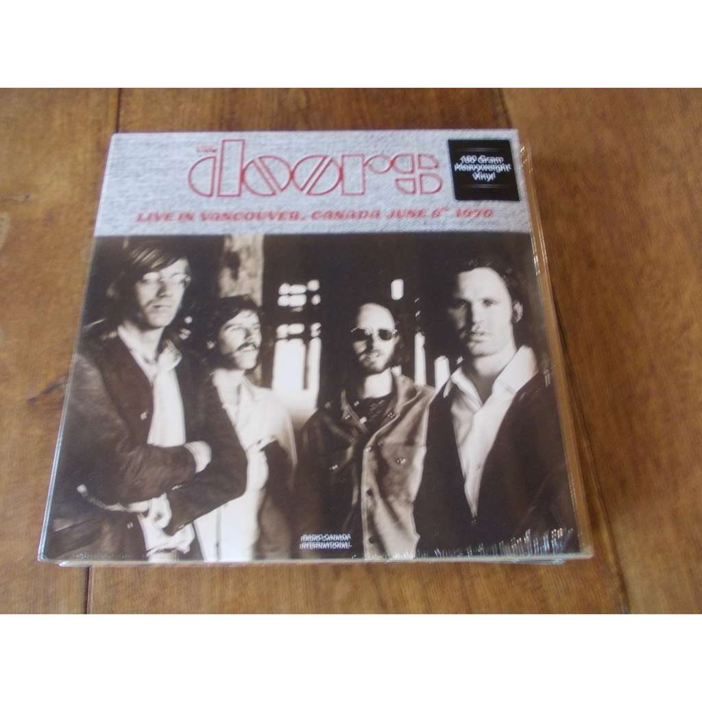 the doors Live in Vancouver