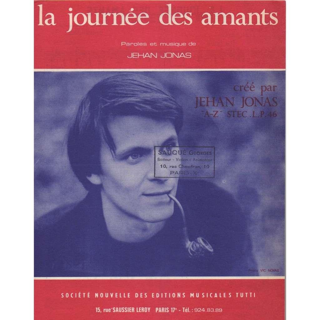 JEHAN JONAS LA JOURNEE DES AMANTS