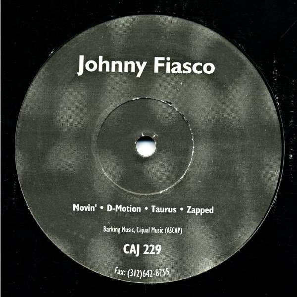 Johnny Fiasco Movin' / D-Motion /Taurus / Zapped