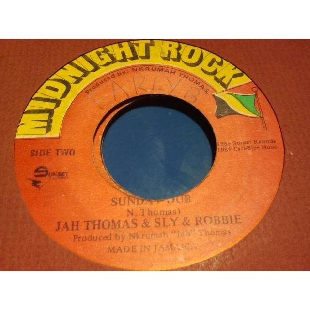 EARLY B / JAH THOMAS & SLY & ROBBIE SUNDAY DISH / SUNDAY DUB ORIG.