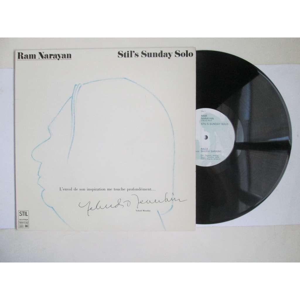 Ram Narayan Stil' S Sunday Solo