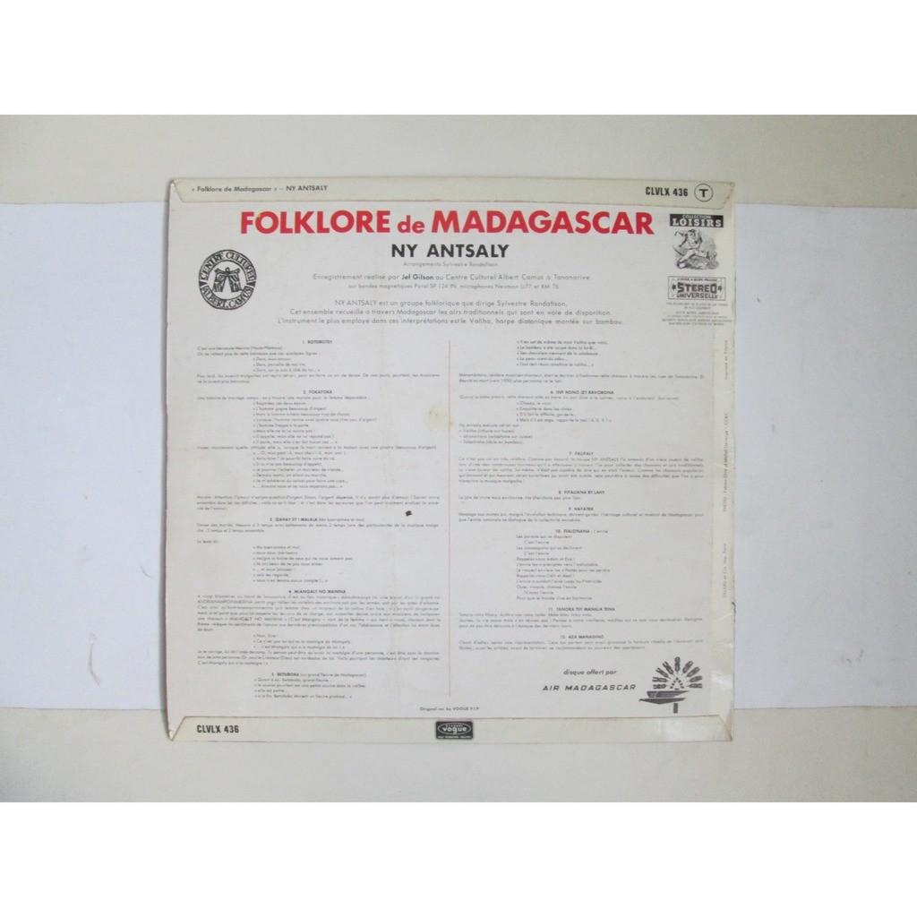 ny antsaly folklore de madagascar