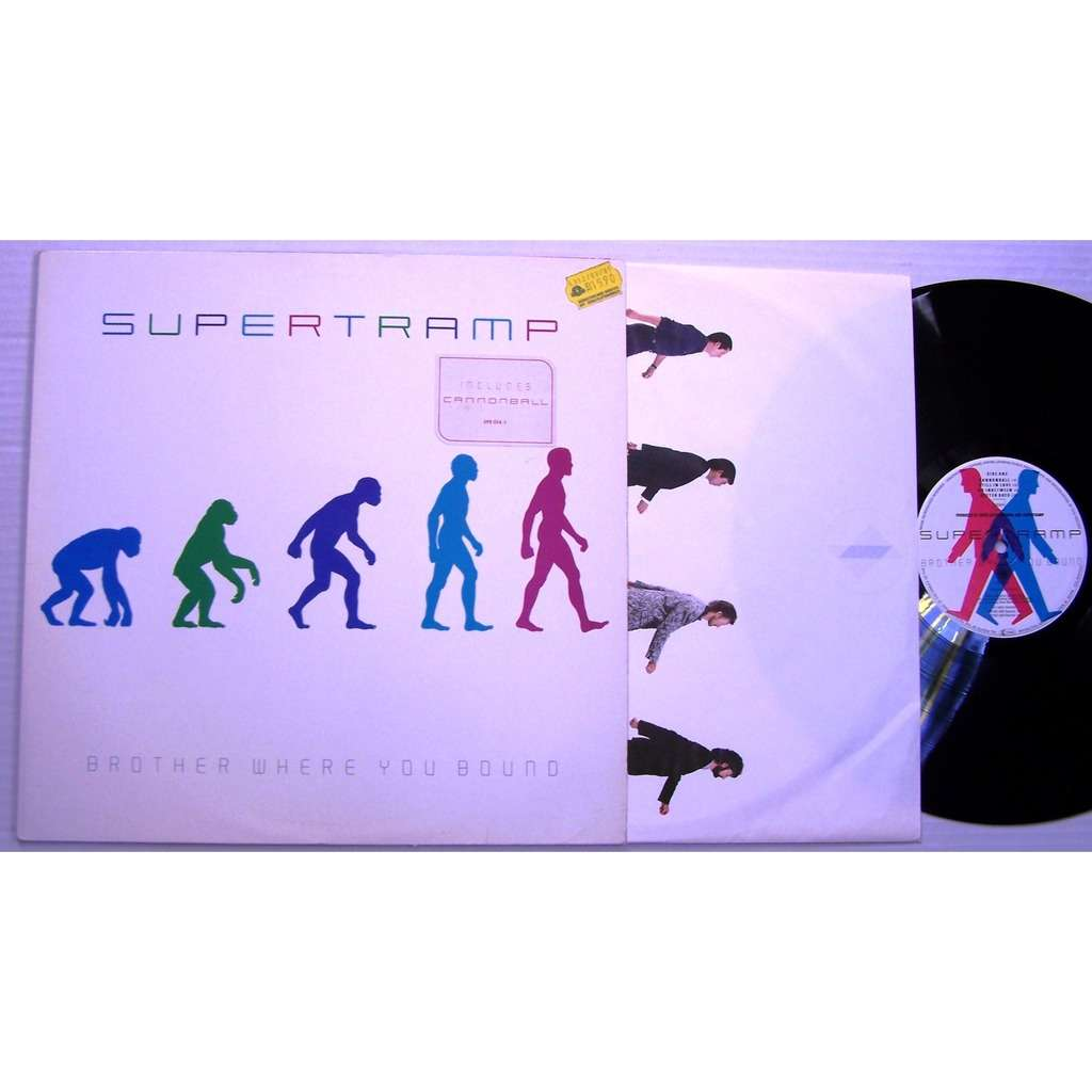 supertramp brother whère you bound / Cannonball