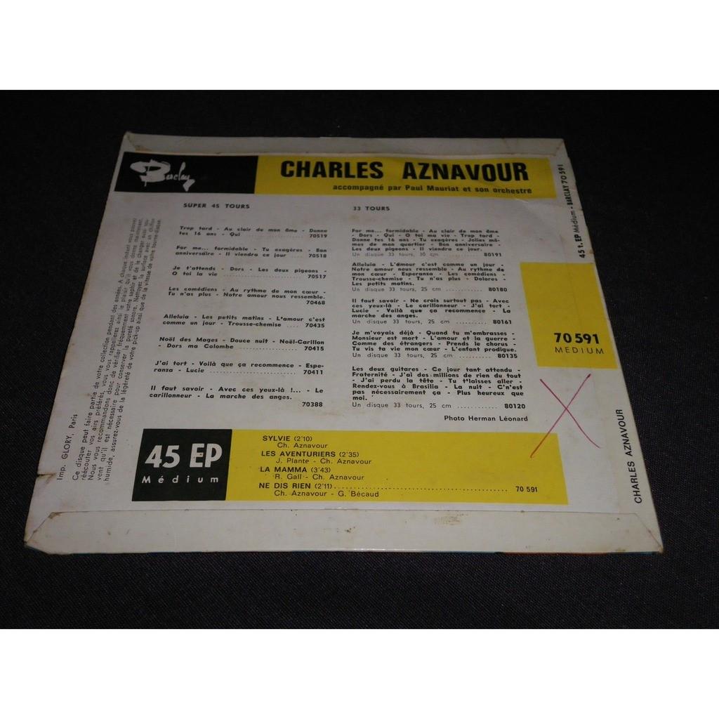 charles aznavour LA MAMMA