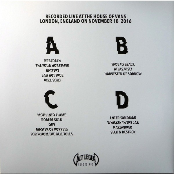 Metallica The House Into Flame (2xlp) Ltd Edit Gatefold Sleeve -E.U