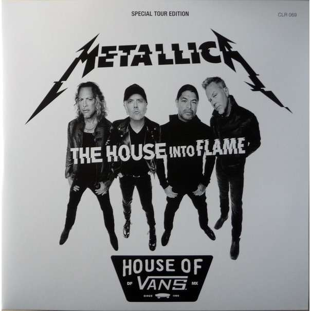 Metallica The House Into Flame (2xlp) Ltd Edit Gatefold Sleeve -E.U