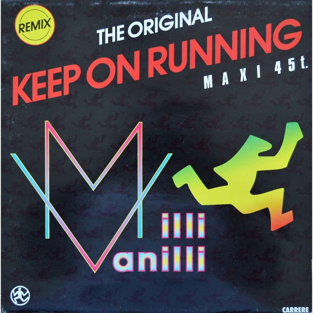 milli vanilli keep on running