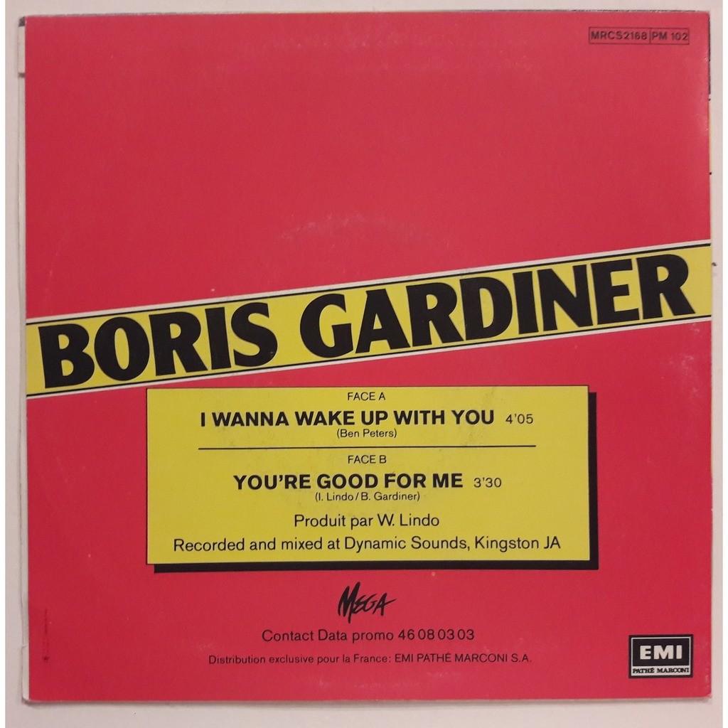 Boris Gardiner I Wanna Wake Up With You