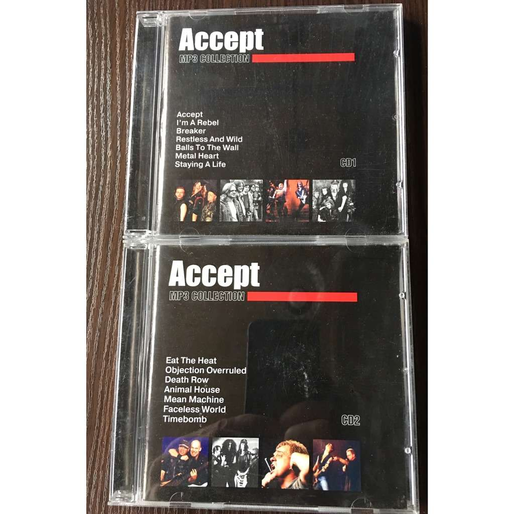Accept MP3 Collection 14 Albums, 2CDs (RMG rec)