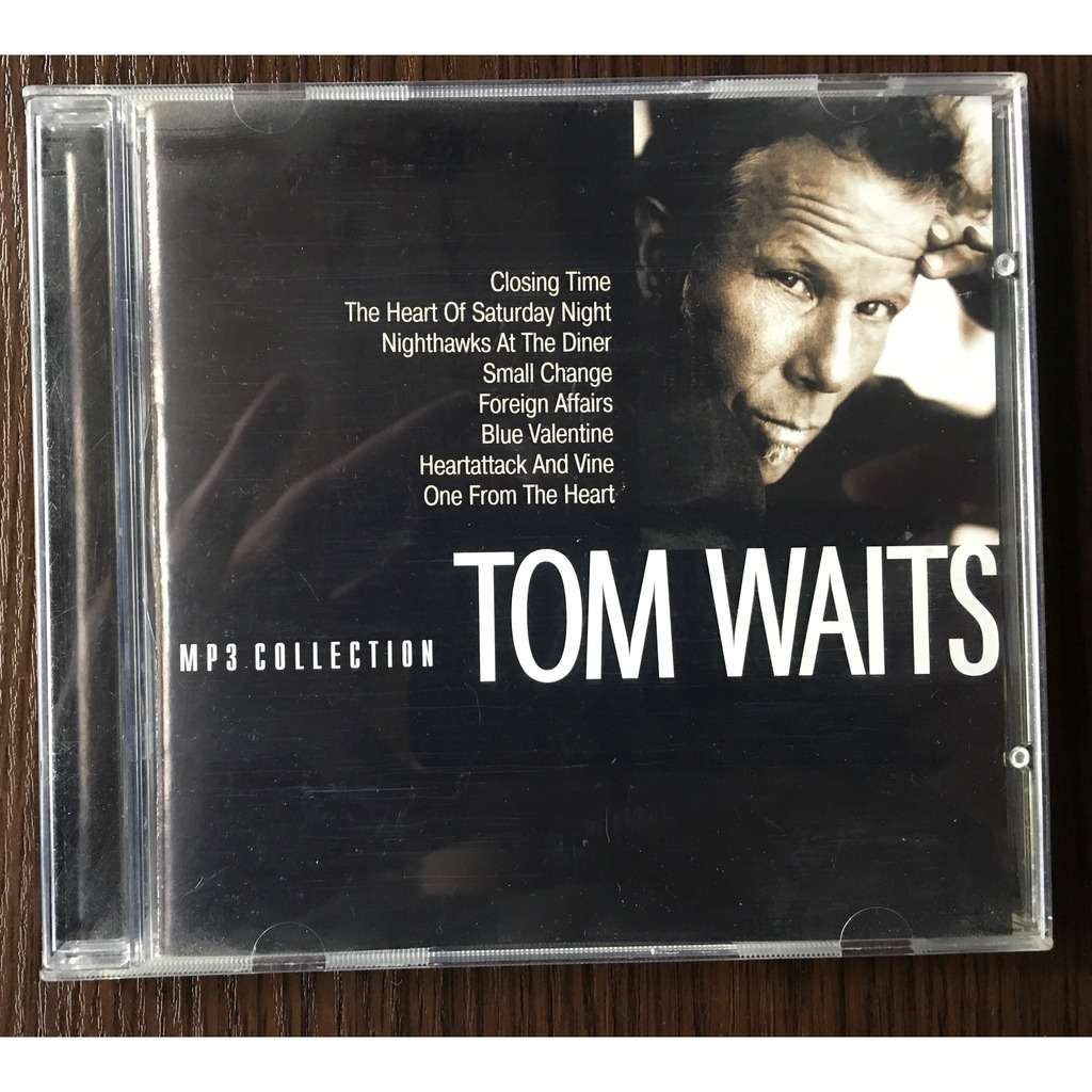 Tom Waits MP3 Collection 8 Albums (RMG rec)