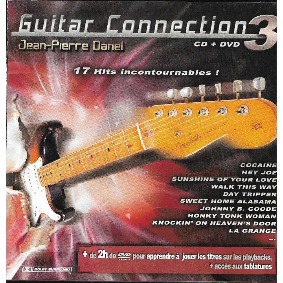 compilation artiste divers Guitar Connection Vol 3 -cd + dvd