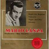 Mario Lanza Begin The Beguine - Valencia - Night And Day - Siboney