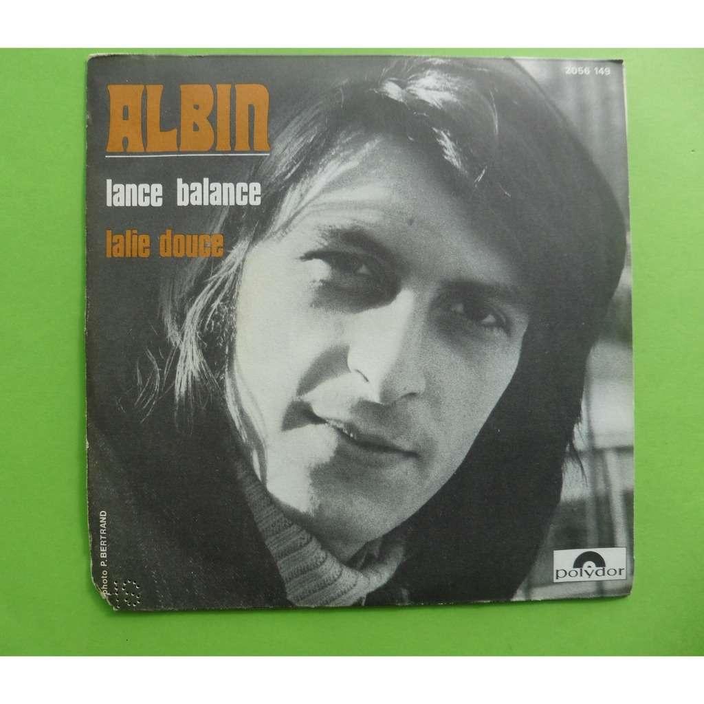 ALBIN LANCE BALANCE / LALIE DOUCE