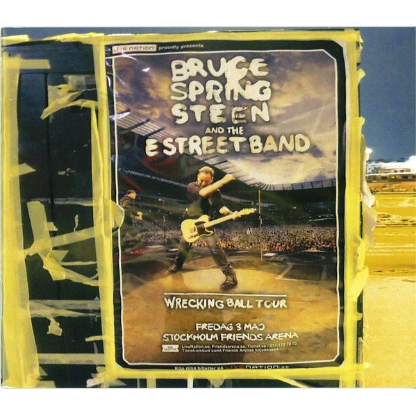 BRUCE SPRINGSTEEN & THE E STREET BAND Stockholm Wrecking Ball Box