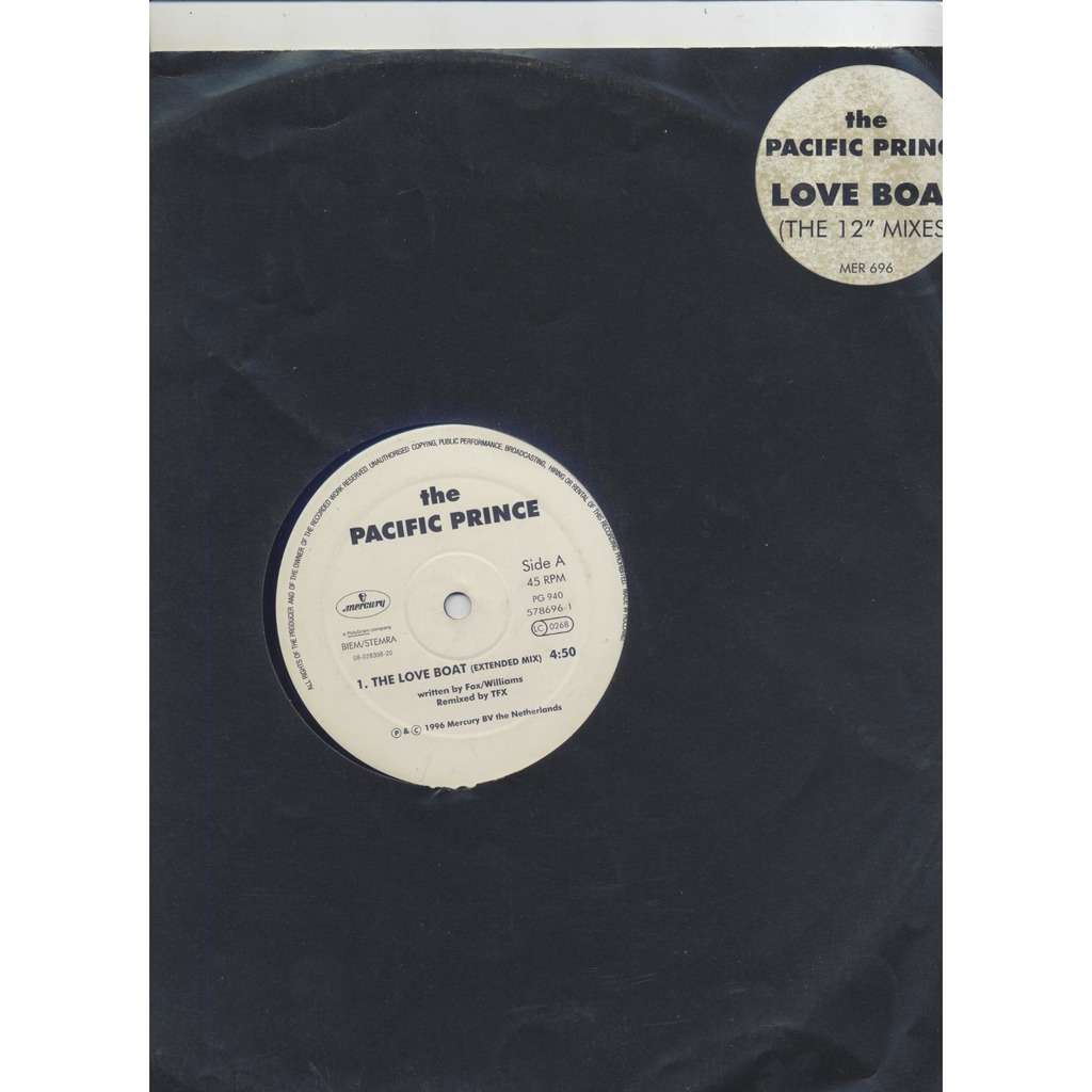 The Pacific Prince ‎ Love Boat (The 12 Mixes) /Cruisin'