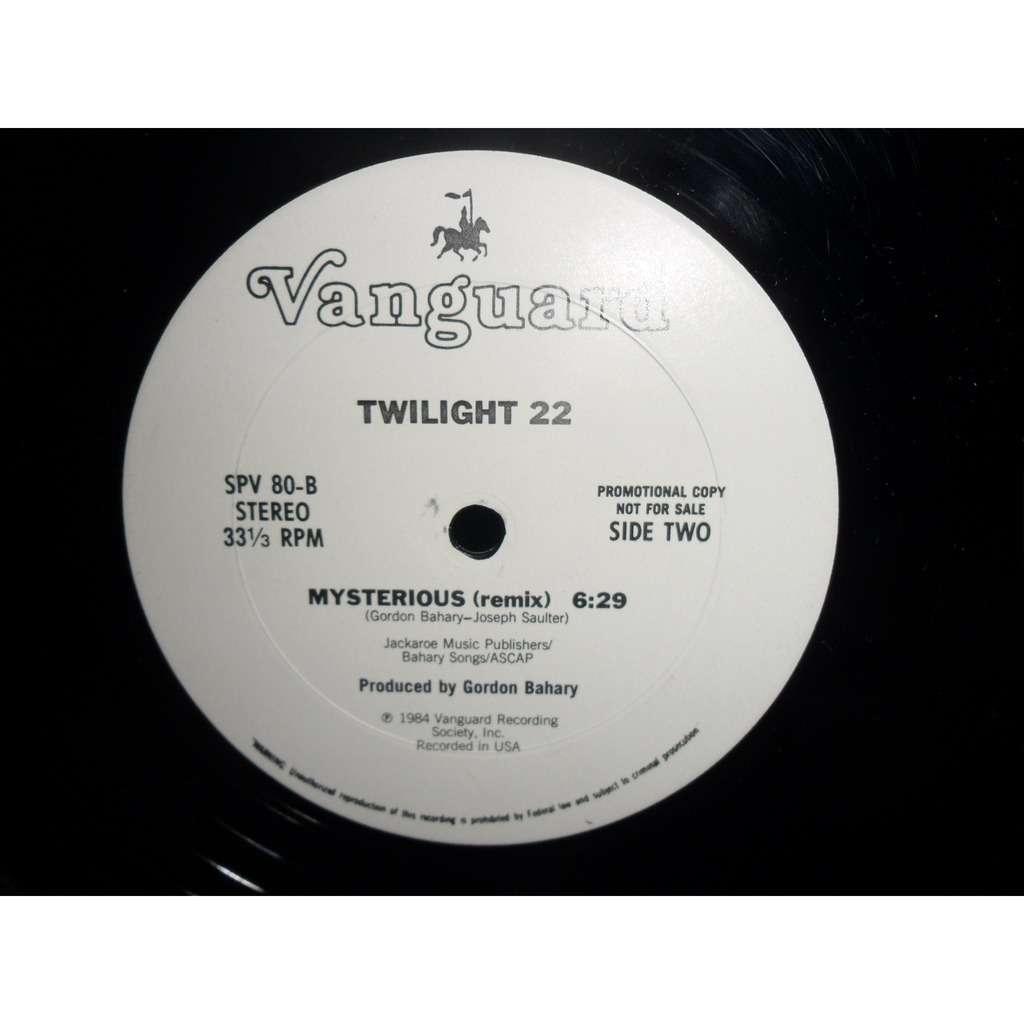 TWILIGHT 22 Mysterious (remix - promo)
