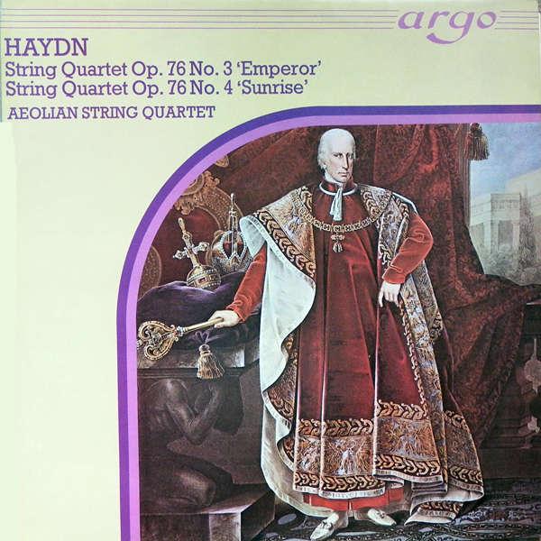 Aeolian string quartet Haydn