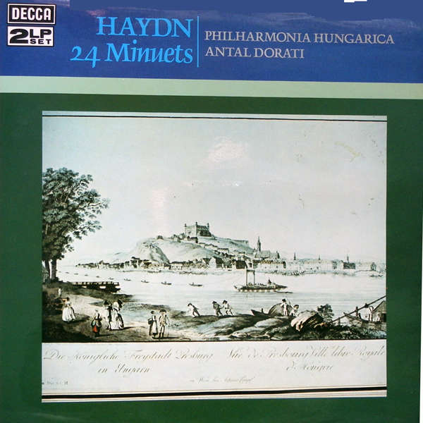 antal dorati Haydn 24 minuets