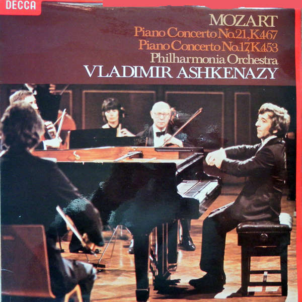 vladimir ashkenazy Mozart