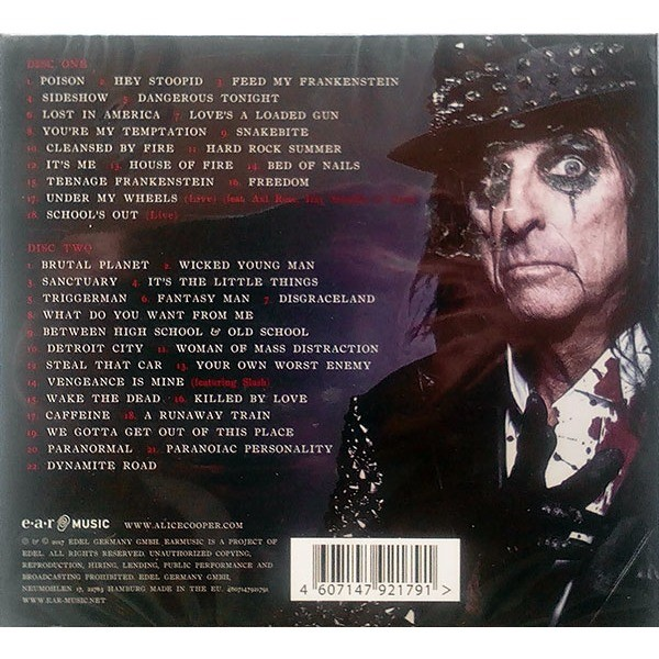 Greatest Hits By Alice Cooper Cd X 2 With Techtone11