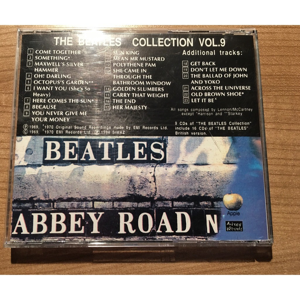 the Beatles Abbey Road & Singles Special Russian Edition