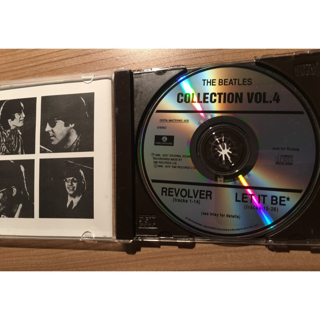 the Beatles Revolver / Let It Be (Special Russian Edition)