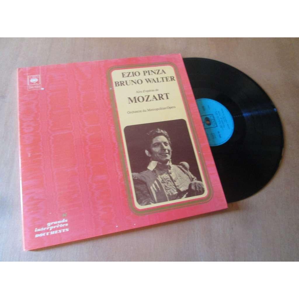 ezio pinza / Bruno Walter airs d'operas de mozart