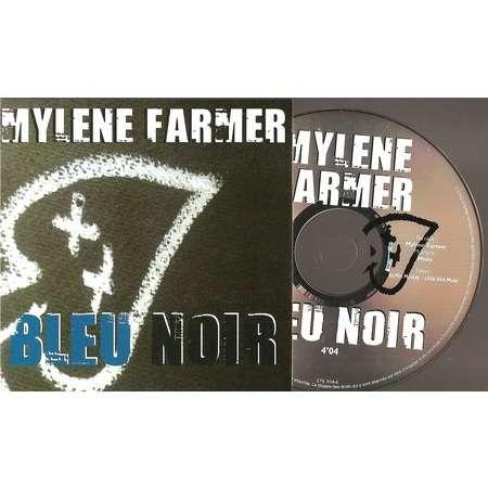 mylène farmer moby bleu noir promo
