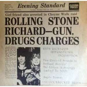 THE ROLLING STONES - KEITH RICHARD'S INTERATIONAL INQUISITION - GUN DRUGS CHARGES The Rolling Stones