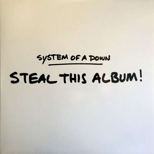 System Of A Down ‎ Steal This Album! (lp)