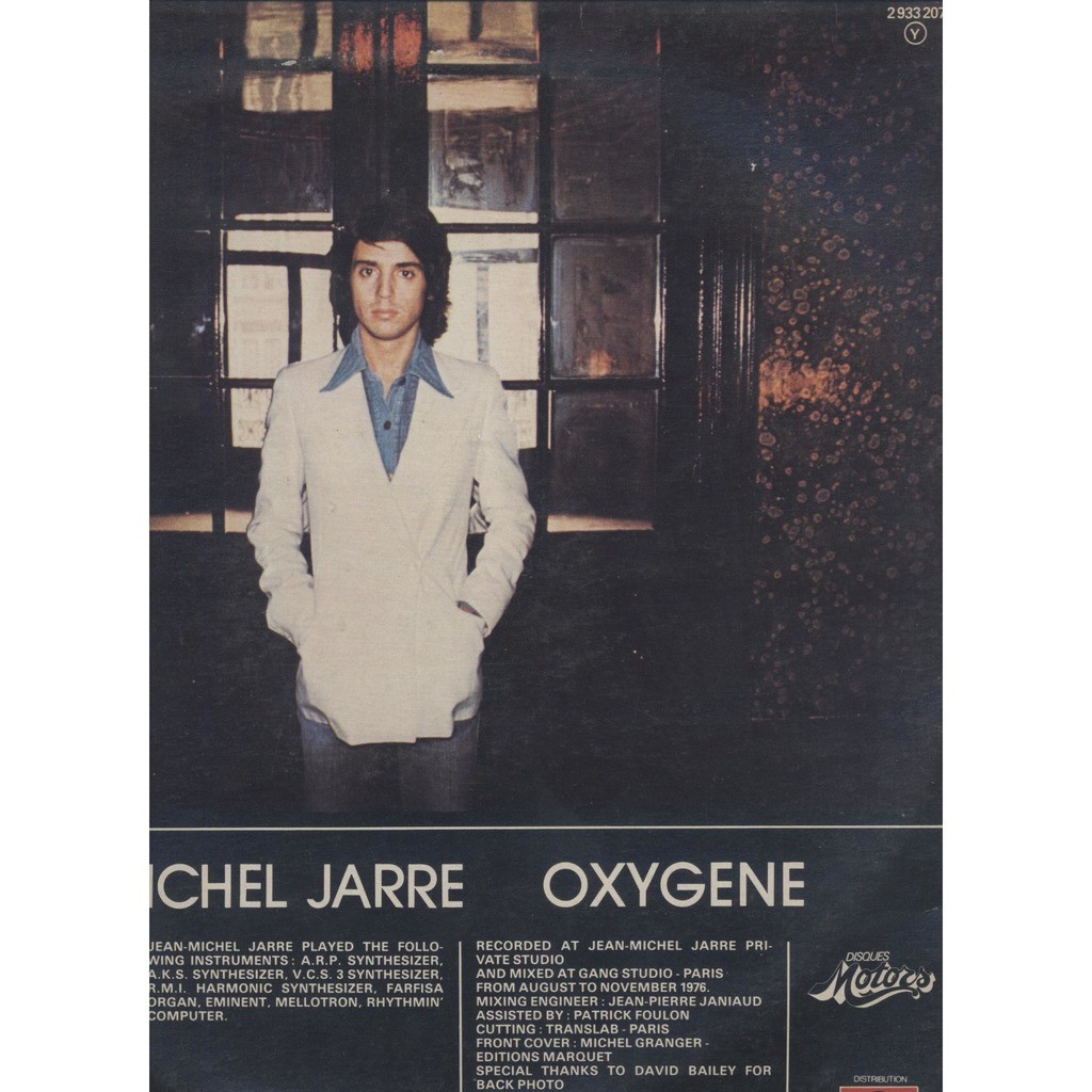 Jarre Jean Michel Oxygène