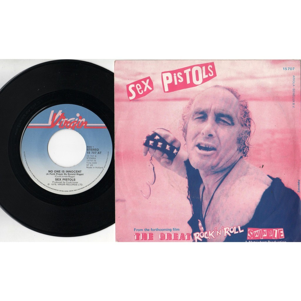 My way cosh the driver by sex pistols sid vicious, sp with safir