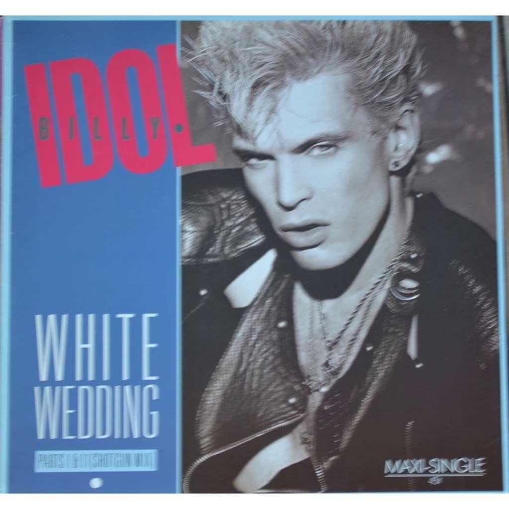 White Wedding Billy Idol.Billy Idol White Wedding Parts I Ii Shot Gun Mix