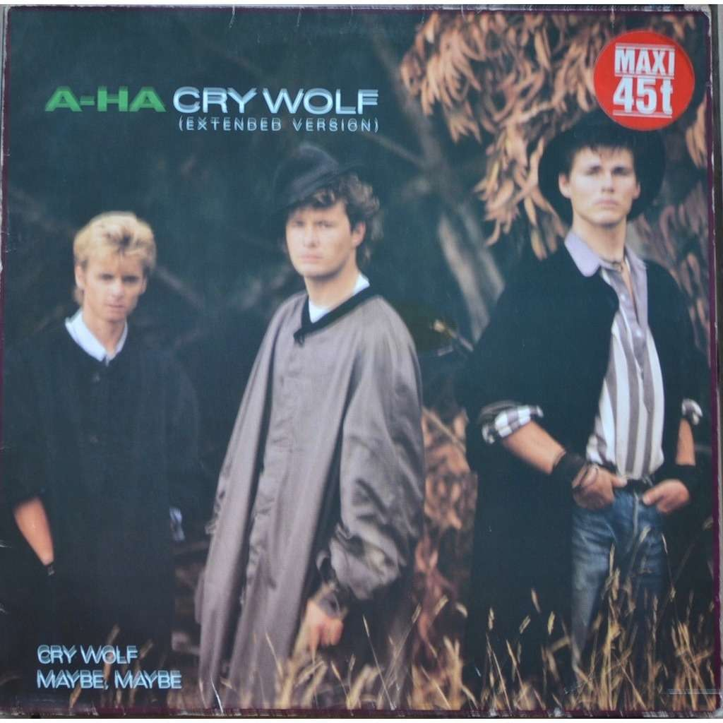 a-ha Cry Wolf (Extended Version)