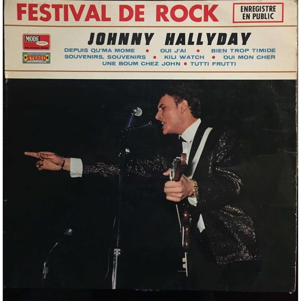 johnny hallyday festival de rock