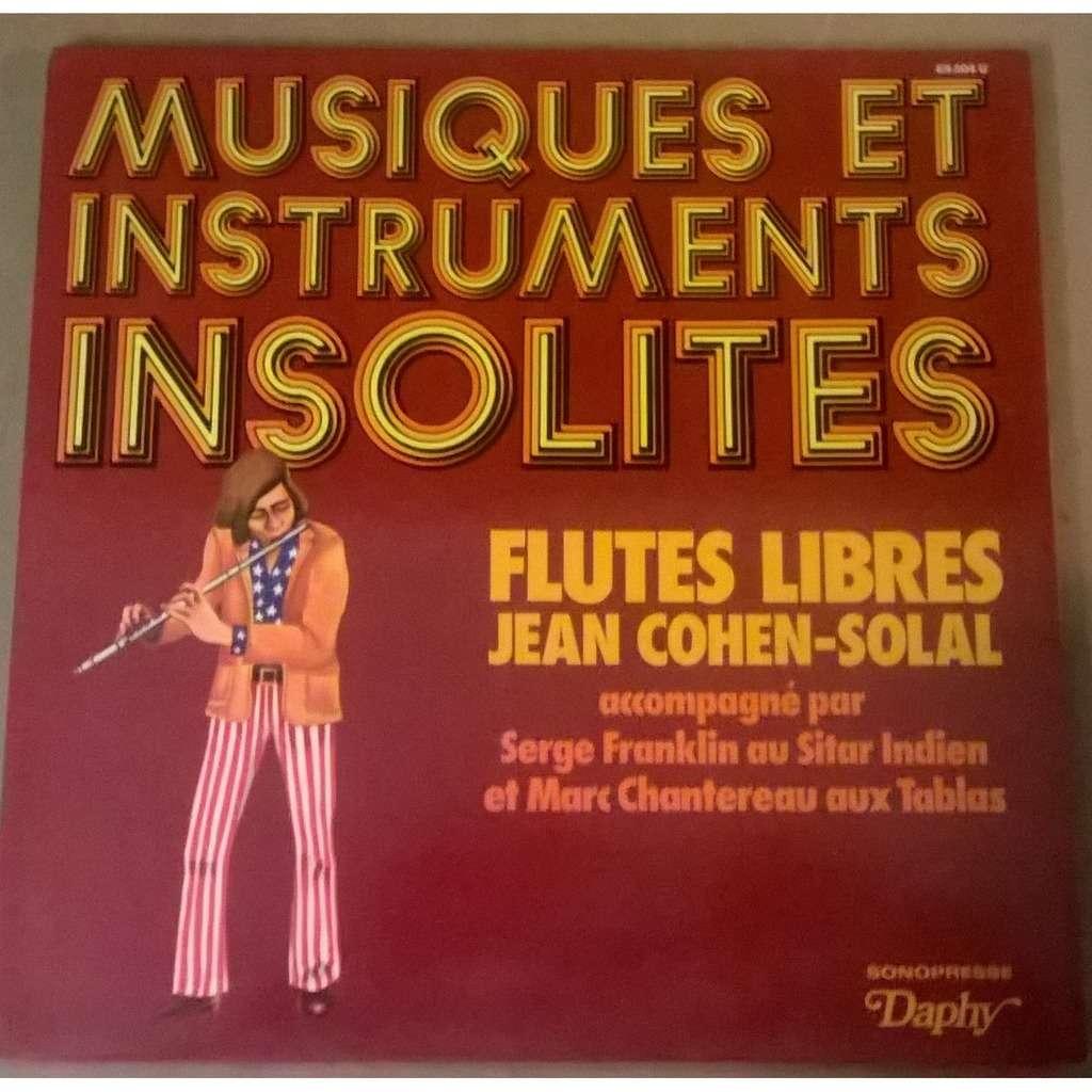 Jean Cohen-Solal Flutes Libres