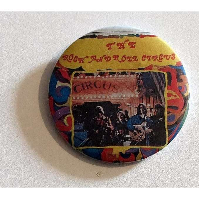 the rolling stones Rock And Roll Circus BADGE