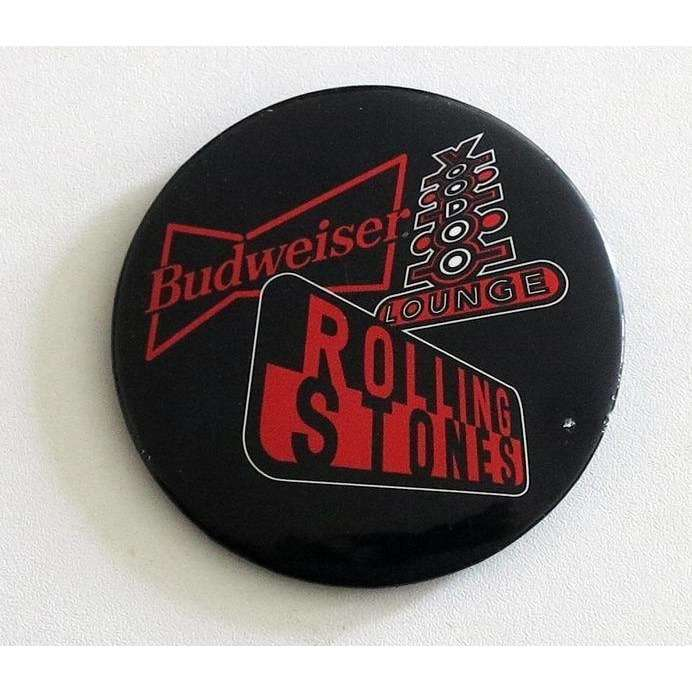 the rolling stones Voodoo Lounge Budweiser BADGE