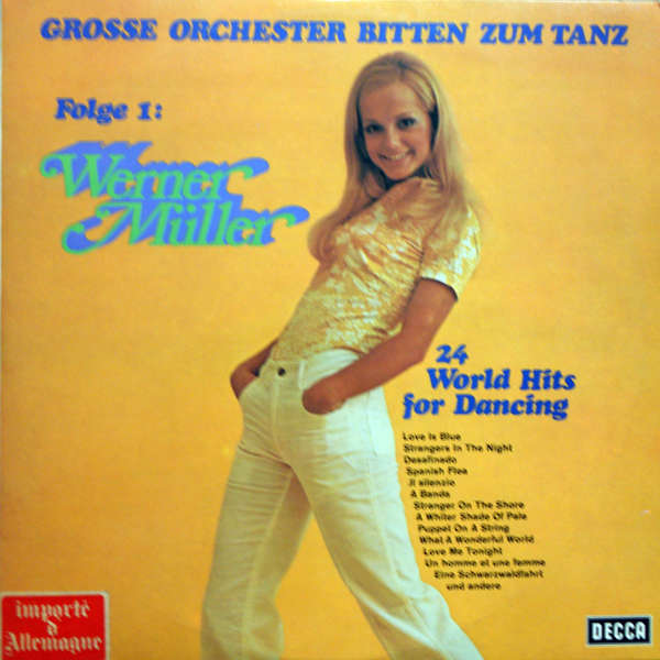 werner muller and his orchestra 24 world hits for dancing